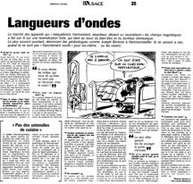 Langueurs d'ondes